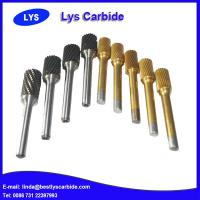 Quality Tungsten carbide burrs for wood, hard Alloy Metal Carbide Rotary File for sale