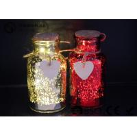 Quality Glass Jar Wine Bottle Led Lights For Home / Party / Events WB-019 for sale