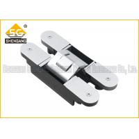 Quality 180 Degree 160*28*28*32mm Zinc alloy Adjustable Invisible Door Hinges for sale