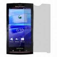 Quality Factory Directly High Clear Screen Protector for Sony X10i, Antis-scratch, Dust-proof for sale