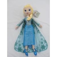 Quality Blue Frozen Elsa Plush Doll Disney Princess Toys in 40cm 50cm Size for sale