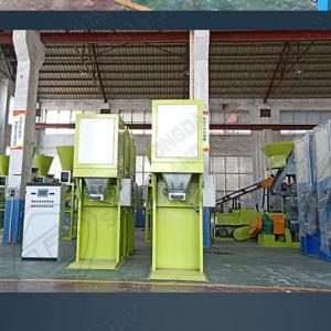 Quality Organic fertilizer and compound fertilizer automatic green color packing scale for fertilizer production line for sale