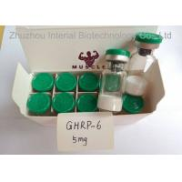 Buy Research Chemical 99.9% Human Growth Peptide Powder 10mg/vial Ghrp-6 For Weight Loss at wholesale prices