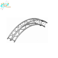 China 4m Aluminum Curved Roof Truss For Outdoor Indoor Performance on sale