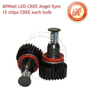 China Error Free 60W CREE LED Angel Eyes Halo Ring Light H8 For BMW E92 328i E89 Z4 on sale