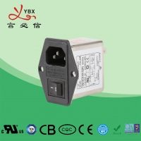 Quality Medical Emi Emc Filter 3A 120V/250VAC Low Pass Transfer Function for sale