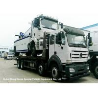 Quality North Benz Heavy Duty Flatbed Wrecker Tow Truck With Hydraulic Winch 25m for sale
