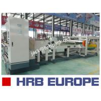 Quality HRB-1600MM 2 Ply Single Facer Corrugated Paperboard Production Line / Carton Box Packaging Machine for sale
