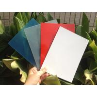 China High Gloss FRP Fiberglass Flat Panel / Wall Panel on sale