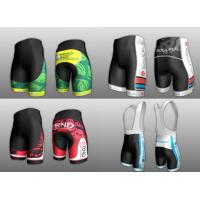 Quality Sublimated short running trousers Cycling Wear Professional Bicycle Clothing for sale