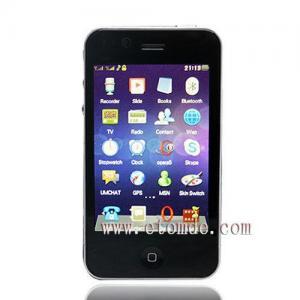 Quality Quadband Dual SIM WIFI GPS Bluetooth Camera TV FM G738 for sale