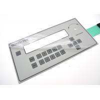 Quality Anti Corrosion Membrane Switch Panel With 3M Permanent Acrylic Adhesive for sale