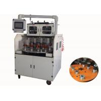 Buy cheap Four Heads Full Automatic Stator Winding Machine CNC Displayer 0.2 -1.0 MM Wire from wholesalers