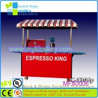 China Multi-functions and simple design Stainless steel mobile used food carts for sale on sale