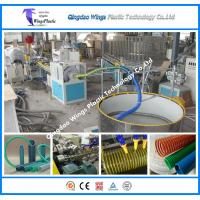Quality PVC Suction Hose Extrusion Line / PVC Spiral Enhanced Pipe Making Machine for sale