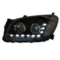 China Angel Eyes Modified Headlights 3000K - 6000K with high Power LED For Toyota RAV4 on sale