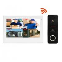 Quality Popular 7 inch wifi video door phone ip video intercom sip full duplex wireless intercom system for sale