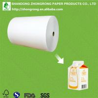 Quality PE coated paper for soy milk gable top carton for sale
