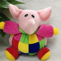 Quality Suffed Plush/fabric toys for new baby clown elephant baby toys OEM OEM service for sale