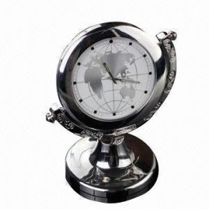 China Globe Clock HD Camcorder, Alarm Clock Security Camera on sale