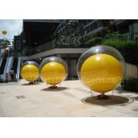 Quality Double Layer Inflatable Advertising Balloons 2m PVC Inflatable Ball In Ball for sale
