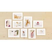 China Wall Decor Sandwich Picture Photo Frames Set 9 Piece / 3X5 4X6 5X7 on sale