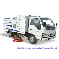 Quality ISUZU 600 Road Sweeper Truck For Washing Sweeping , Street Sweeper Vehicle for sale