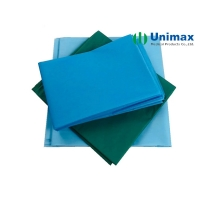 Quality PE Coating On PP Or SMS 50×70cm Disposable Bed Sheet for sale