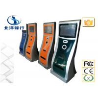 Quality Indoor Multimedia Internet Self Service Banking Kiosk Cash Payment Kiosk Stand for sale