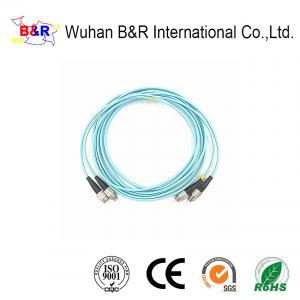 Quality Multimode OM3 50/125um FC Fiber Optic Patch Cord for sale
