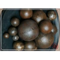 Quality Solid Steel Grinding Media Ball High Reliability With CE / ISO Certification for sale