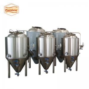 Quality Good polishing beer fermentation tank 500l 1000l 1500l 2000l unitank for sale