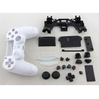 Quality Replacement Complete Housing Shell Case for PS4 Dualshock 4 Controller - Glossy White for sale