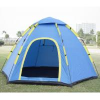 Quality Popular 3 to 4 Person Quick Up Tent Fast Pitch Outdooor Camping Tent OEM Made Logo Printed as Design(HT6054) for sale