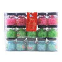 Quality Colorful & Healthy Sweets / 7g Lucky candy packed in small jar yummy Low sugar Hard candy for sale
