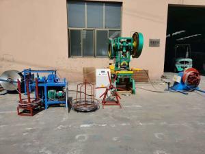 China Galvanized Coil Razor Blade Barbed Wire Making Machine on sale