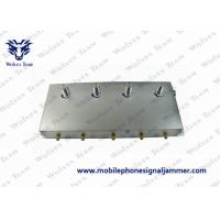 China 5-Band Portable 3G Cell Phone Signal Jammer Black on sale