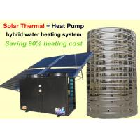 Quality Energy Saving Solar Heat Pump Water Heater Corrosion Resistance For Family House for sale