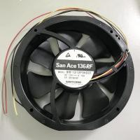 China 9RF1324P3H001 Reversible DC Axial Fans 136 X 28mm Sanyo For Air Distribution Device on sale
