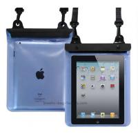 Transparent TPU / PVC waterproof ipad case PC waterproof pouch bag