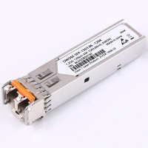 Quality 1.25G Dwdm Sfp Transceiver , Sfp Single Mode Module 1528.77nm-1563.86nm for sale