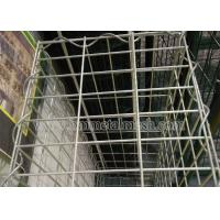 China Galvanized gabion basket for stone cage application for retaining wall on sale