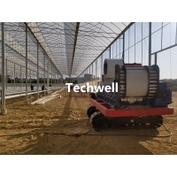 Quality Hydroponics Growing Portable Gutter Machine For Planting Strawberries, Tomatoes for sale