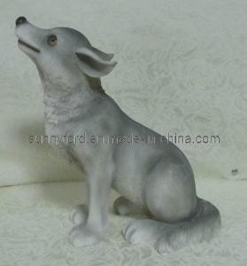 Quality Polyresin Dog Figurines Decoration (SFR1689) for sale