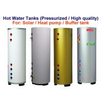 Quality Vertical Hot Water Storage Tank 0.6 Mpa / 600 Kpa Rated Working Pressure for sale