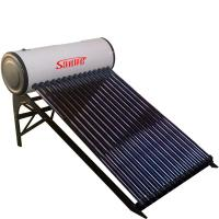 China pre-heated copper coil solar water heater on sale
