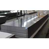 Quality Commercial Flat Aluminum Sheets , Aluminum Sheet Roller Constrcution Custom Size for sale