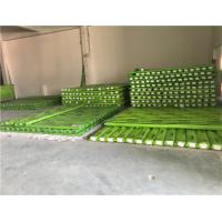 Quality Reinforced PPR Fiberglass Composite Pipe Green Color With Hot Melting Connection for sale