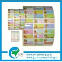 Quality customized roll adhesive label sticker printing for sale