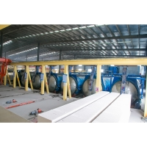 Quality 380V Autoclave Mobile Concrete Block Making Machine for sale
